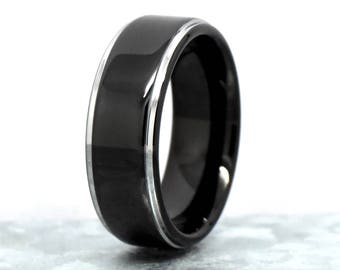 Promise Ring, Tungsten Promise Ring, Promise Ring Men, Mens Promise Rings, Promise Ring for Him, Wedding Ring, Wedding Band, Engagement Ring