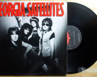 Georgia Satellites - Self Titled (1986) Vinyl LP  Keep Your Hands To Yourself
