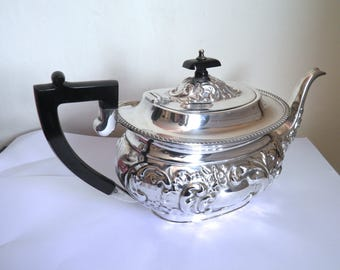 Antique or Vintage Silver Plated Teapot Garrard and Co London