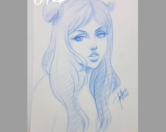 014 - original pencil sketch