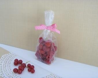 10 sachets 6 cm * 4 cm * 22 cm transparent gift bags