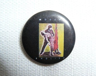 Vintage Early 80s Modern English - I Melt With You Single (1982) Promotional Pin / Button / Badge