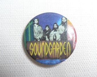 Vintage 90s Soundgarden Pin / Button / Badge