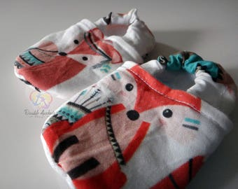 Stay-On Slippers / Shoes ~ Brave Fox ~