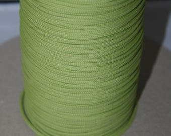 Polyester thread 2mm Lemon