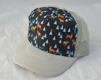Deers, Elk, & Mountains Kid's Trucker Hat