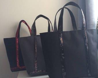 Custom made your sequins bag/ sequins bag / shopper bag / Tote bag