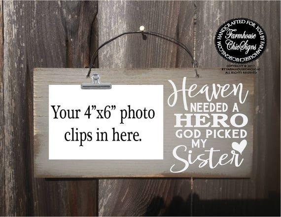 Sister Memorial Sign