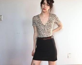 90s / Y2K Black Mini Skirt