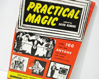 Practical Magic Edited By David Robbins Over 100 Magic Tricks Vintage 1953