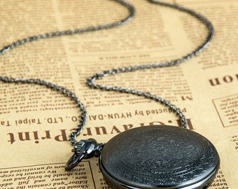 1 Pocket Watch Necklace Watch Wedding Party Gifts Vintage Watch -C014