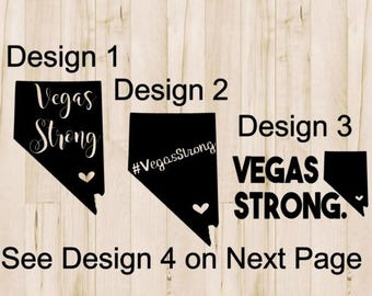 Vegas Strong Decals