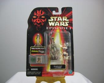 Star Wars Phantom Menace Episode 1 Action Figure - Gasgano with Pit Droid