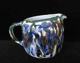 Heath ceramics creamer vintage studio pottery heath ceramics creamer dispenser Edith Heath made in USA California pottery gift used serving