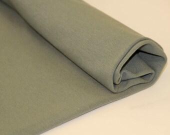 Organic Ribbing - Dusty Green - Bloome Copenhagen  Organic Cotton ribbing Cuffing UK Seller