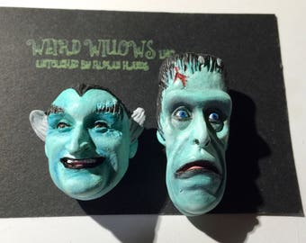 Herman, you goofed it again! Munster's Magnets, Grandpa Munster, Herman Munster, Frankenstein, Dracula, Valentines Day