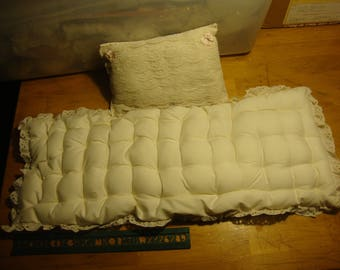 doll mattress & pillow