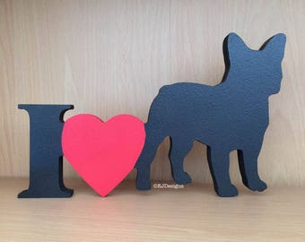 French Bulldog Plaque, frenchie, dog gift