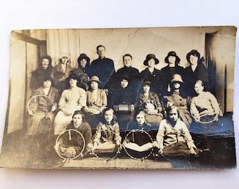 Vintage  Group Photograph