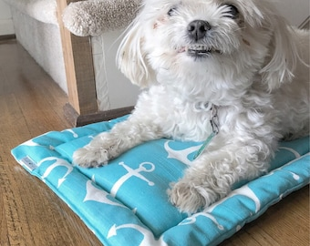 Kennel Pad, Crate Bed, Crate Mat, Flippable Crate pad, Dog Crate Bad, Dog Bed Mat, Cool Crate Pad