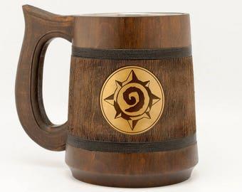 Hearthstone Gift Blizzard Hearthstone Warcraft Gift World of Warcraft Mug Hearthstone game WOW Mug Gamer Gift Epic Mug WOW Gift
