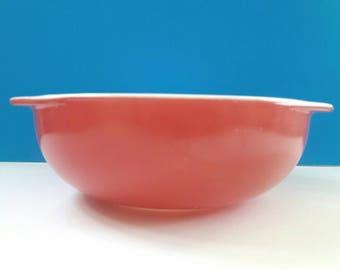 Vintage Pyrex Mixing Bowl, Red Pyrex, Mixing Bowl, Pyrex, Collectible Pyrex Bowl, Retro Kitchen.