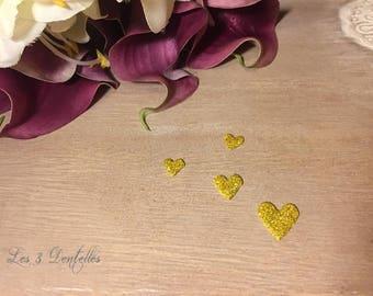 4 skin gold heart wedding jewelry