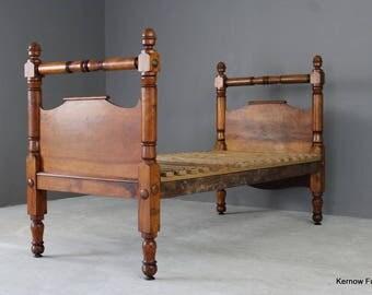 Antique Single Bed Frame