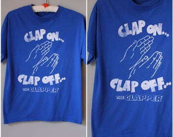 1980s 'The Clapper' T shirt