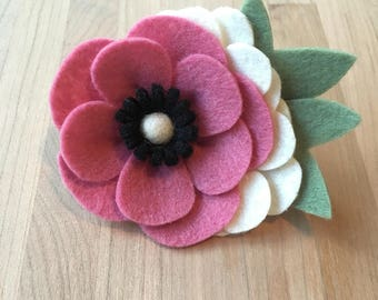 Anemone Flower Crown | Felt Flower Crown