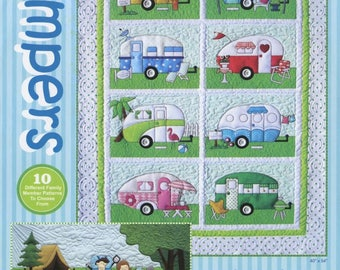 Campers Pattern from Amy Bradley Designs