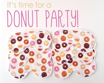 Donut Party Favor - Slumber Party Favor - Sleep Mask - Gifts For Her - Sleeping Mask - Gifts For Girls - Birthday Gift - Spa Gift -
