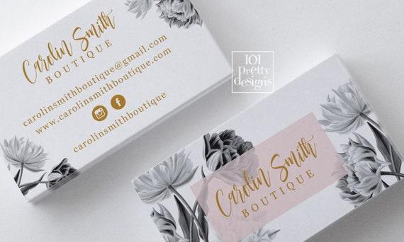 vintage business card printable business card design black gold