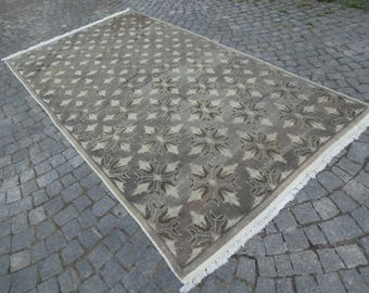 Turkish area rug,63''x116''-159x295cm - 5'21''x9'67''