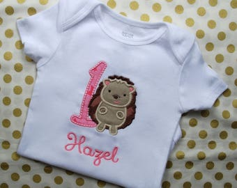 Hedgehog Birthday Shirt