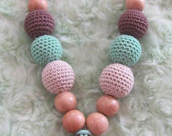 Breastfeeding and Babywearing necklace