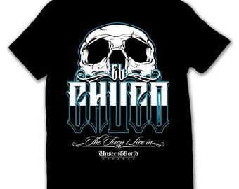 Chuco skull tshirt