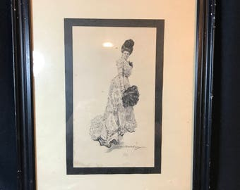 1909 HOWARD CHANDLER CHRISTY Print