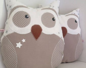 personalized OWL wish pillow or blanket