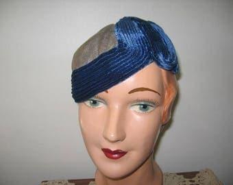 RESERVED / 1930's Metallic Mesh Skull Cap!