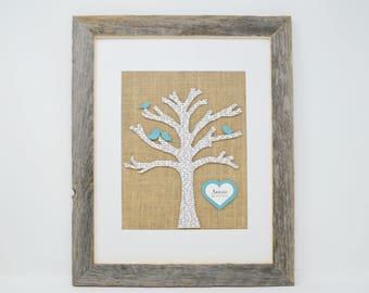 Gift for Newlyweds- Custom Wedding Gift, Gift for Bride, Gift for Parents, Gift for her, Anniversary Present, Burlap Wedding Decor, lyrics