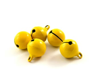 5 bells yellow color 14 mm