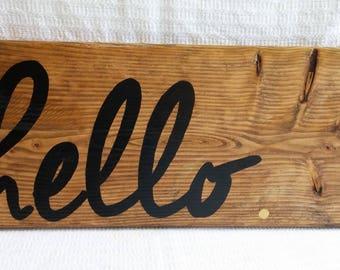 hello. Sign