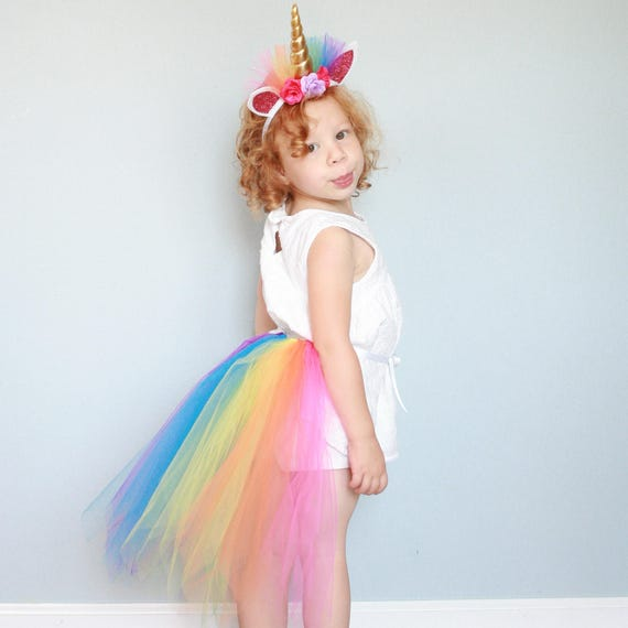 Compliment your little princess's intrinsic magic with any of our unicorn costumes for kids. Featuring iridescent horns and sparkling accents, these girls' unicorn costumes are perfect for dress-up, school plays, and of course, Halloween! Most importantly, the fantastic transformation is immediate.