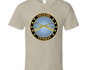 Army - Infantry Veteran - T-shirt