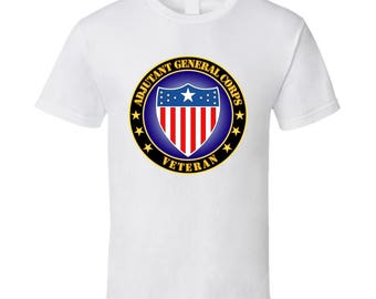 Army - Adjutant General Corps Veteran - T-shirt