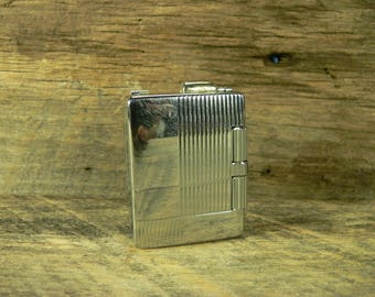 VINTAGE LIGHTER: Strato Flame 1950s Butane Pipe Cigar Cigarette Lighter***3.95 Shipping***