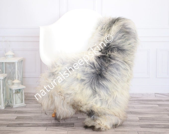 Icelandic Sheepskin | Real Sheepskin Rug | Gray Sheepskin Rug | Fur Rug | Homedecor #febisl7