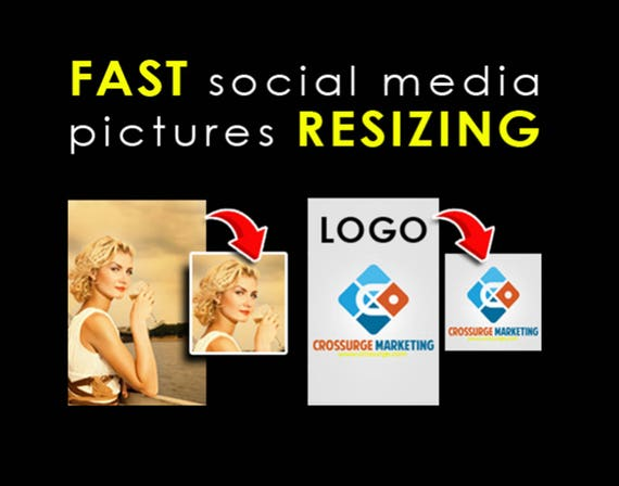 Picture Resizing, Resize Image, Photo Resizing, Image Resize, Social Media Resize, Resizing Service, Profile Picture Resize, Image Re-scale