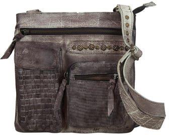 Sunsa crossbody bag shoulder bag handbag leather bag 91245